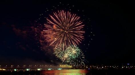Власти Воронежа оценили фейерверк на День города в 2 млн рублей