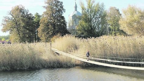 В таловской Новой Чигле новая переправа соединила 2 берега реки