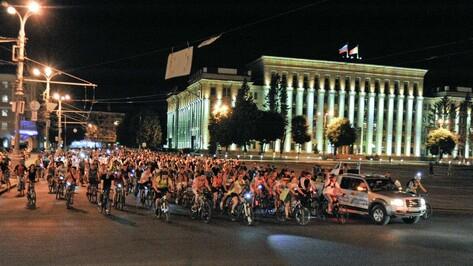 Юбилейная Велоночь проедет по 3 мостам Воронежа
