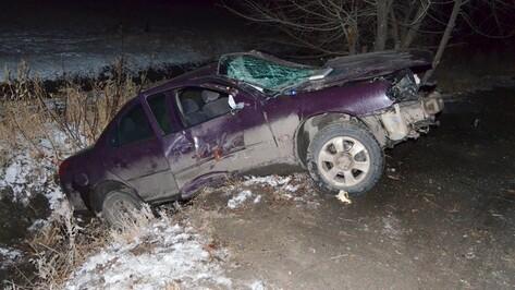 Под Воронежем в результате лобового столкновения машин пострадали 5 человек
