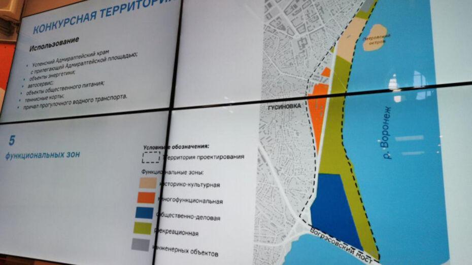 Первый этап реконструкции Петровской набережной в Воронеже может обойтись в 150 млн рублей