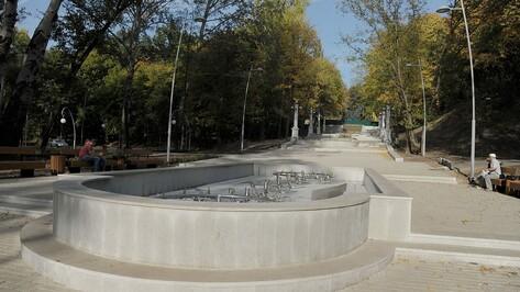 В воронежском Центральном парке в День города заработал фонтан