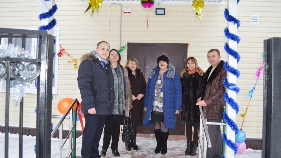 В репьевском селе Бутырки открыли ФАП