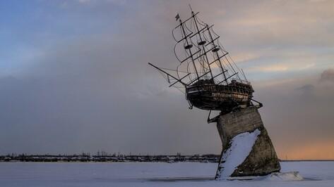 Мэрия Воронежа решила снять корабль «Меркурий» с постамента на водохранилище