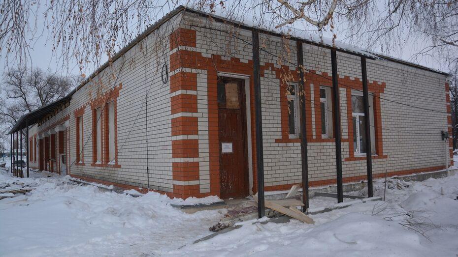 В Поворинской райбольнице капитально отремонтируют инфекционное отделение