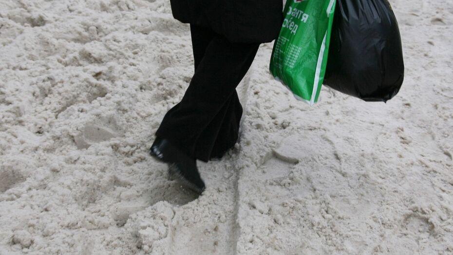 Прокуратура пожурила директора бутурлиновской УК за плохую уборку снега