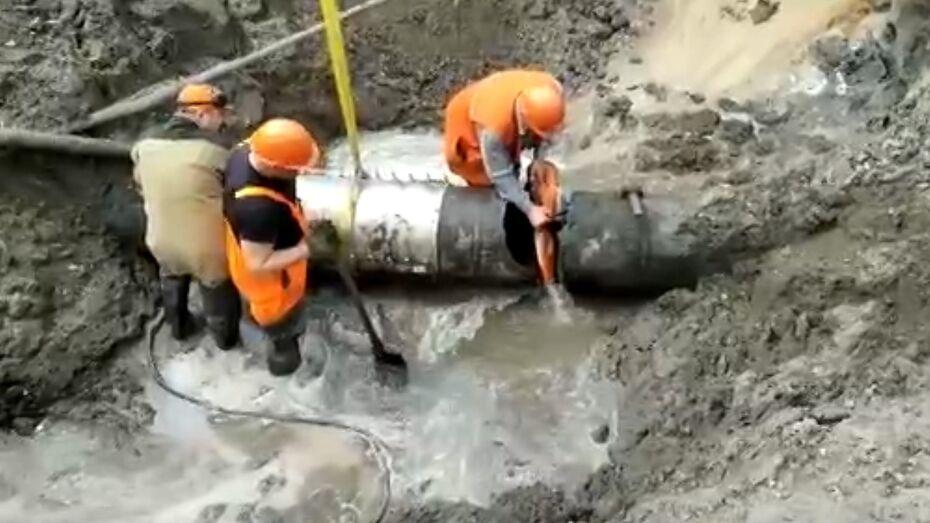 Без воды остались 7 улиц в Левобережном районе Воронежа