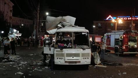 Губернатор после взрыва автобуса в Воронеже: «Завтра пройдут проверки всего транспорта»