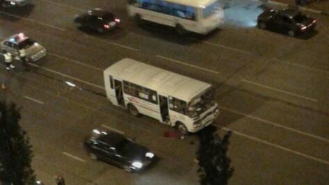 Полиция возбудила дело о смертельном ДТП с маршруткой в Воронеже