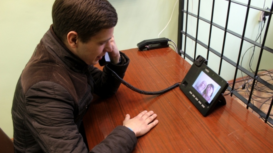 Из-за отсутствия свиданий воронежские осужденные стали чаще общаться по видеосвязи