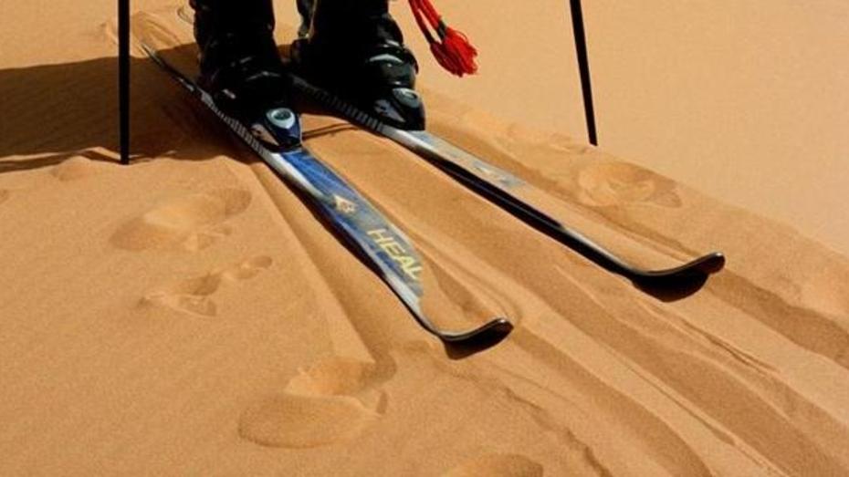 Воронежцы посоревнуются на лыжах по песку
