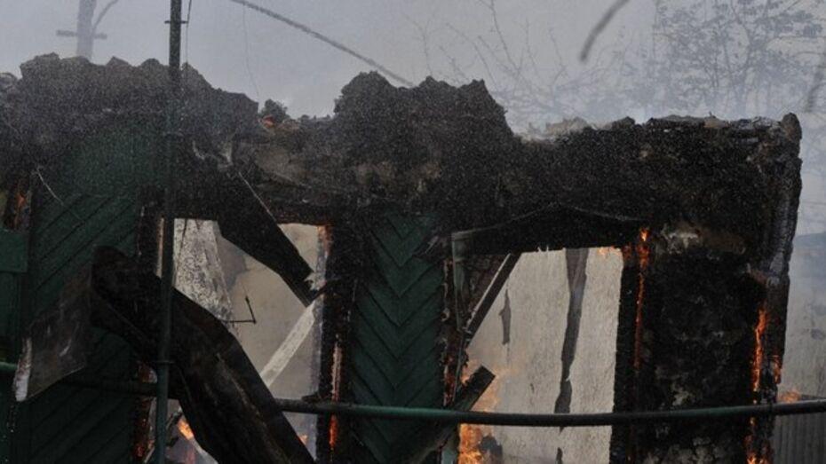В Воронеже мужчина погиб при пожаре в Железнодорожном районе