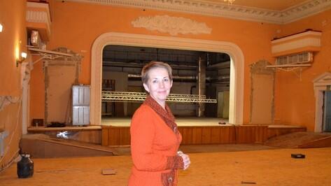 В семилукском Дворце культуры начали капремонт концертного зала