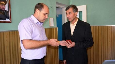 Нижнедевидца наградили медалью министерства обороны РФ