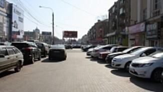 Дорожная среда: Парковки на улице Кольцовской