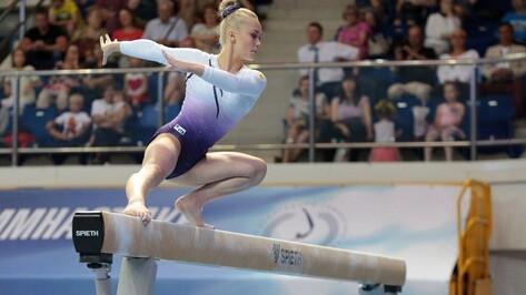 Воронежская гимнастка завоевала еще 2 медали на международных соревнованиях