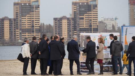 Проект благоустройства Петровской набережной в Воронеже подготовят к концу 2019 года