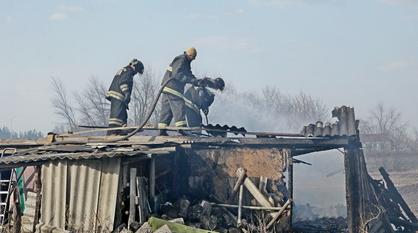 Крупным ландшафтным пожаром в воронежской Мечетке заинтересовалась прокуратура