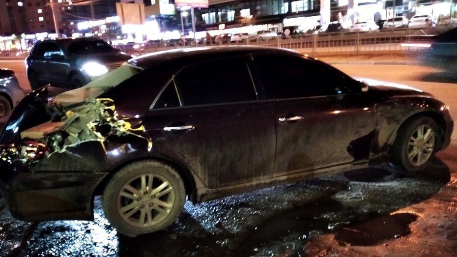Предполагаемого виновника аварии с беременной женщиной в Воронеже арестовали