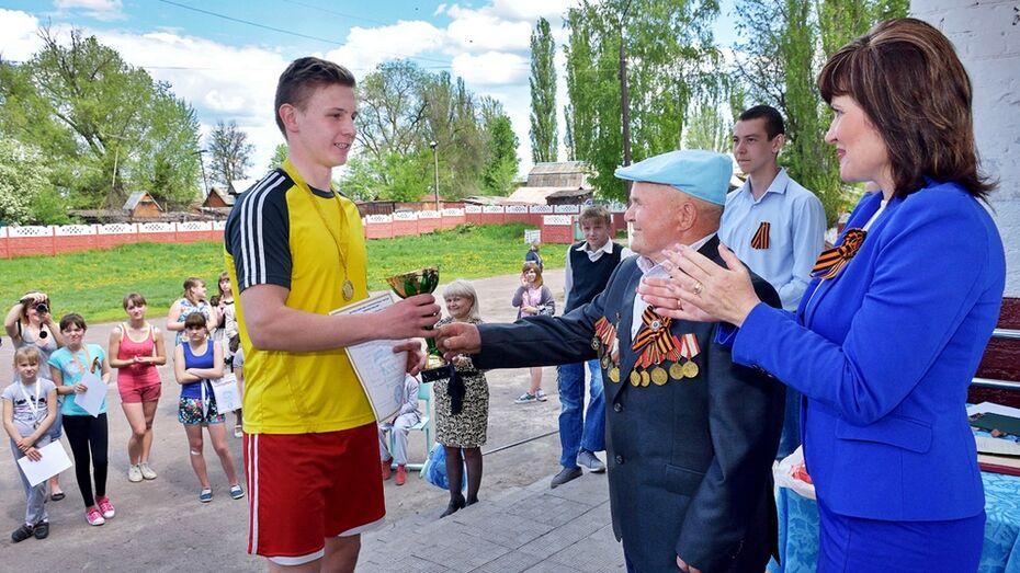 Панинские школьники пробежали 1418 м в День Победы