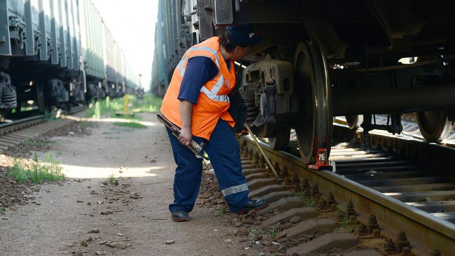 Поезда в Воронеж прибывали с опозданием из-за попытки хищения металлолома