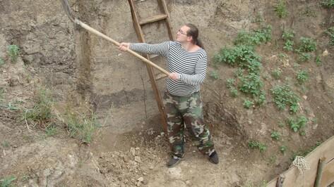 В хохольском селе Борщево начались раскопки стоянки древнего человека