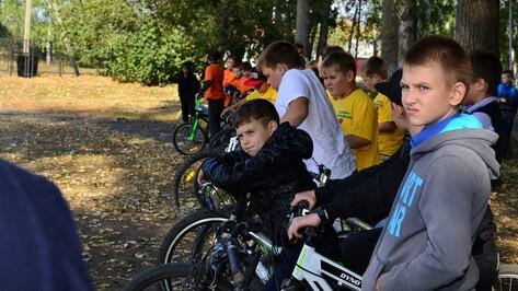 В Грибановском районе прошли соревнования юных велосипедистов