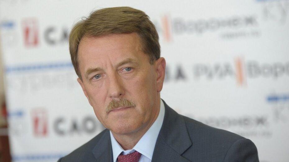 Воронежский губернатор поднялся на 2 строчки в медиарейтинге глав регионов ЦФО