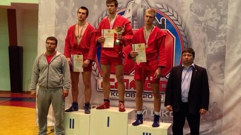 Воронежец завоевал «серебро» на первенстве России по самбо