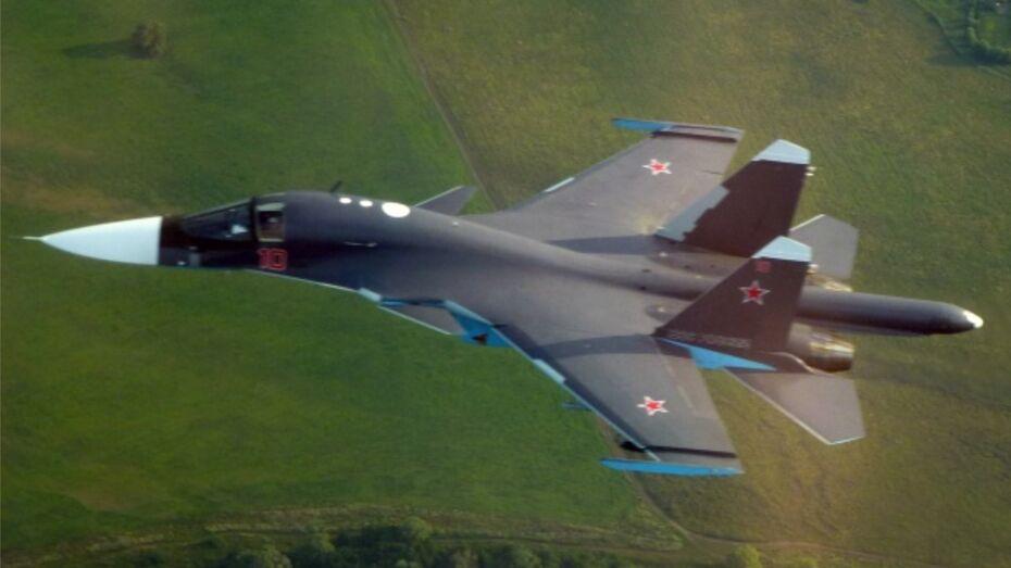 Су-34 готовятся к вылету в Воронеж