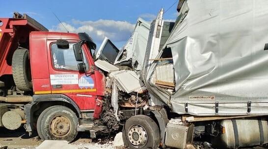 Следователи заинтересовались аварией со слетевшей с трассы фурой в Воронежской области