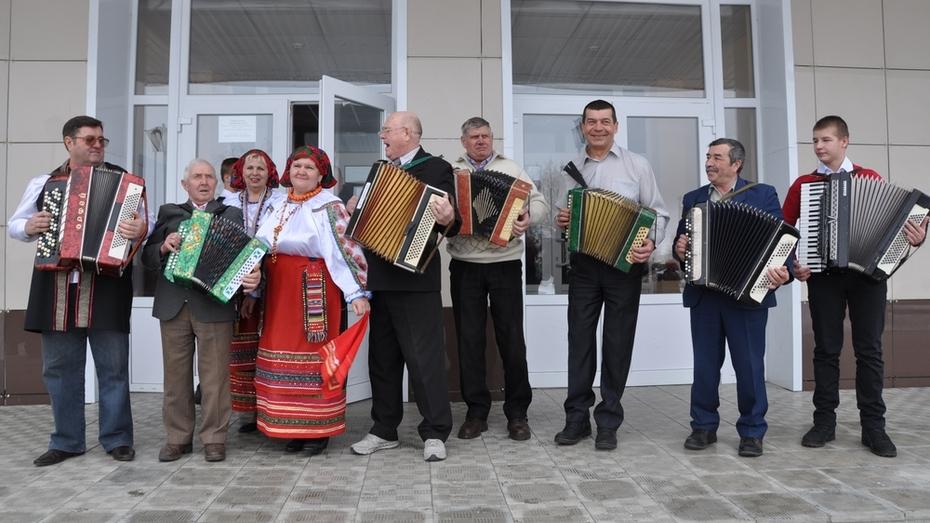 В павловском селе прошел праздник русской гармони