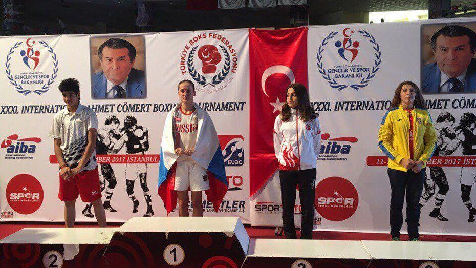 Воронежская спортсменка победила на международном чемпионате по боксу
