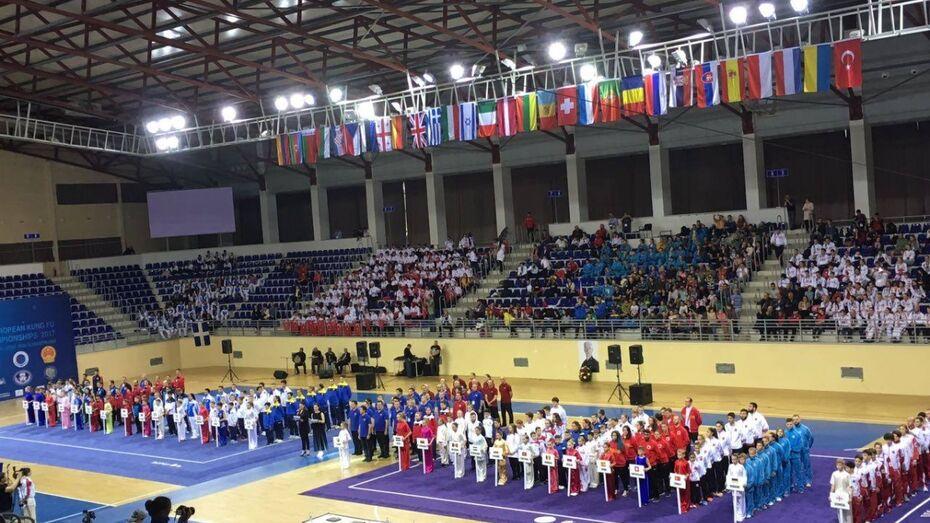 Воронежские ушуисты выиграли 23 медали на чемпионате Европы