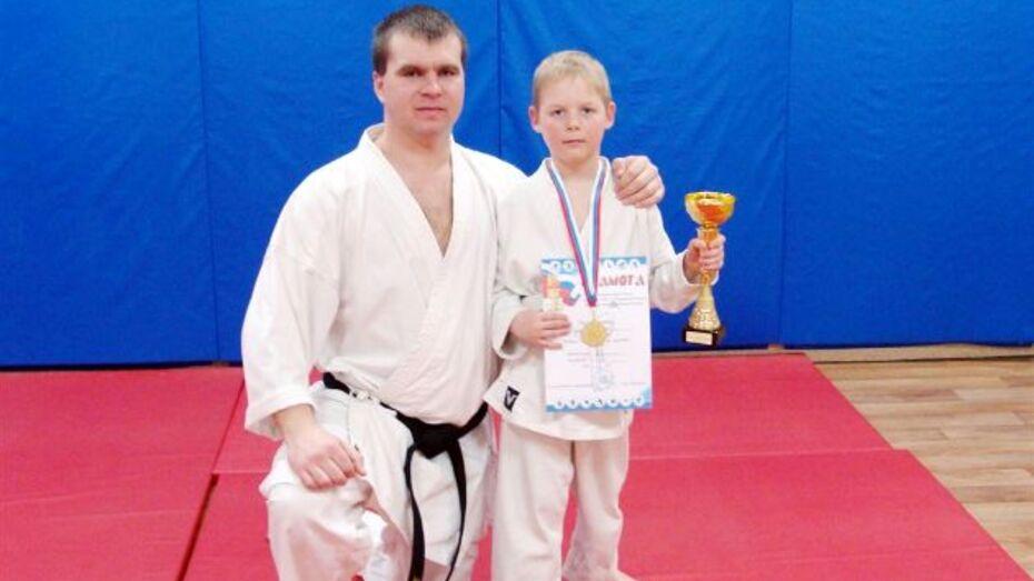 Кубок Черноземья по каратэ WKF завоевал 8-летний хохольский спортсмен