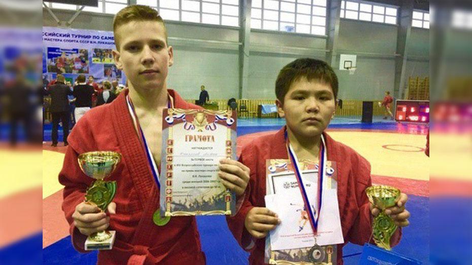 Таловский спортсмен победил на всероссийском турнире по самбо