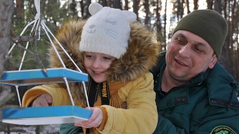 Павловские лесничие провели акцию «Подкорми птиц зимой»