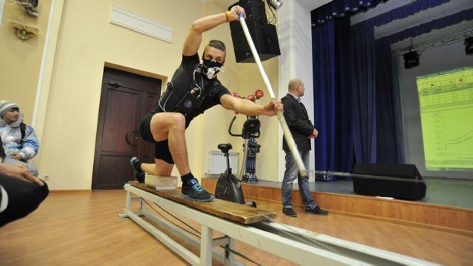 Воронежских спортсменов проверили на особом газоанализаторе
