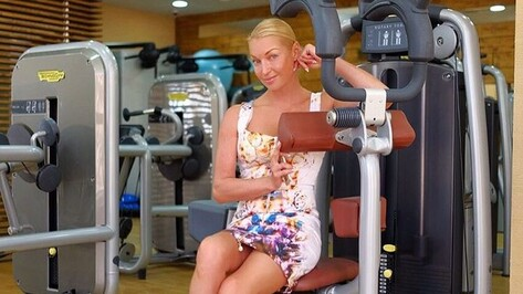 Балерина Анастасия Волочкова похвалила воронежские дороги