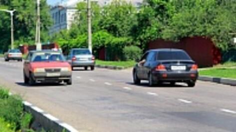 В Семилуках впервые за несколько лет восстановили дорожную разметку