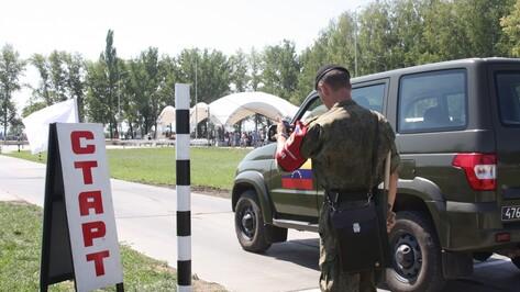 Россия и Китай лидировали на этапе конкурса военных водителей в Воронежской области