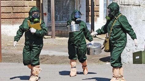 В Бутурлиновке ликвидировали последствия авианалета