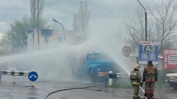 Хроника РИА «Воронеж». Как потушили пожар на газовой заправке