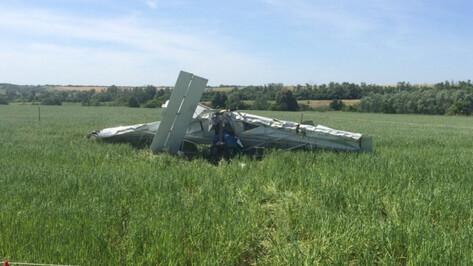 СК возбудил уголовное дело после крушения легкомоторного самолета в Воронежской области