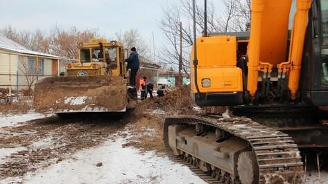 В новоусманском селе началось строительство водопровода