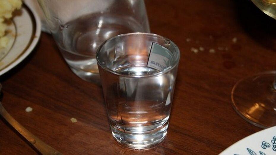 В Воронежской области мужчина убил собутыльника из-за меньшей порции водки