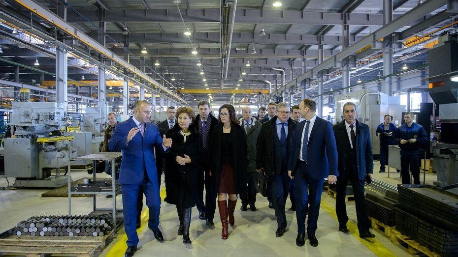 Минпромторг оценил развитие промышленности в Воронежской области