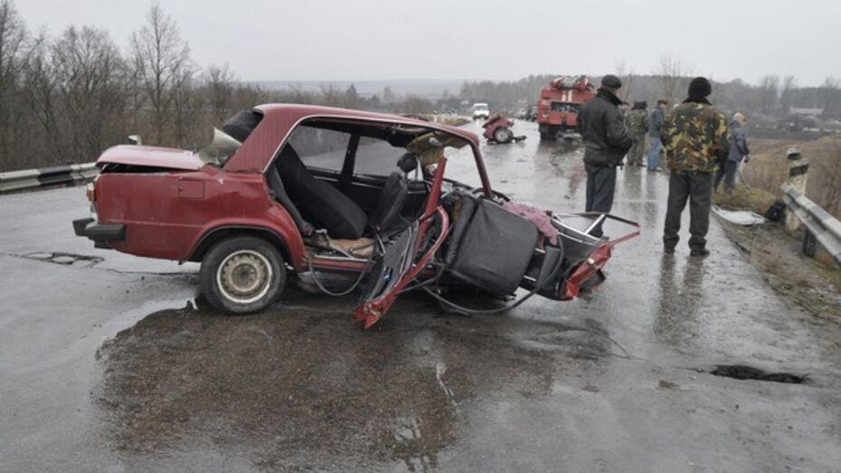 ГИБДД: в 2013 году из-за выезда на «встречку» погибли 105 жителей Воронежской области