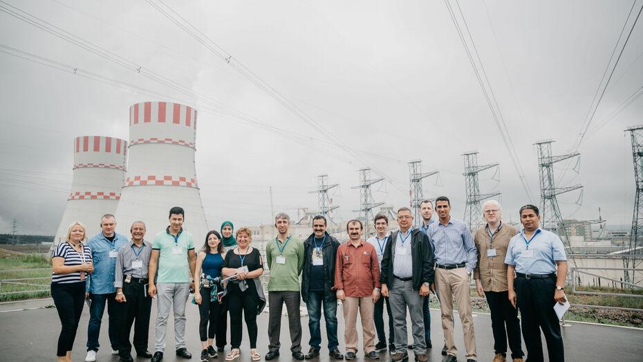 Нововоронежскую АЭС посетили преподаватели вузов стран-новичков в атомной энергетике
