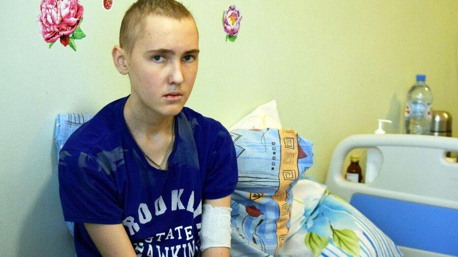 Русфонд попросил помощи для воронежского подростка с редким лейкозом
